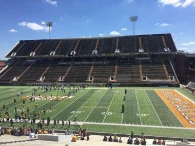M. M. Roberts Stadium, section: C, row: 46, seat: 27