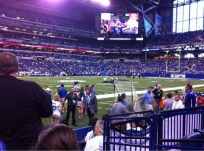 Lucas Oil Stadium section 116