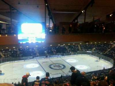 Madison Square Garden, section: 222, row: 22, seat: 10