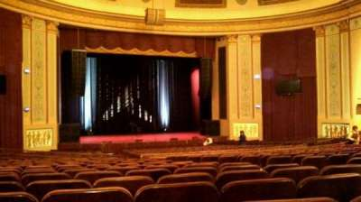 Strand-Capitol Performing Arts Center, section: orchestra left, row: DD, seat: 13