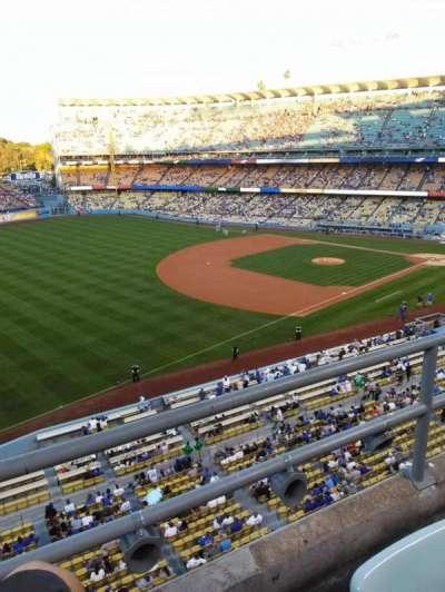 Dodger Stadium, section: 35RS, row: B, seat: 21