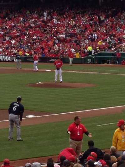 Great American Ball Park, section: 113, row: YY, seat: 13