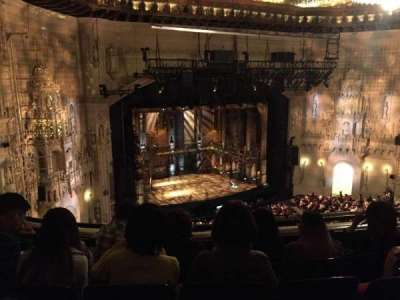 Orpheum Theatre (San Francisco), section: Balcony L, row: D, seat: 7