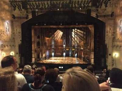 Orpheum Theatre (San Francisco), section: Mezzanine RC, row: E, seat: 106