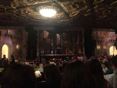 Orpheum Theatre (San Francisco) section Orchestra L