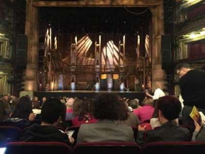 CIBC Theatre, section: Orchestra, row: S, seat: 109