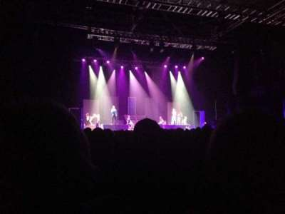 Revention Music Center, section: 106, row: F, seat: 2