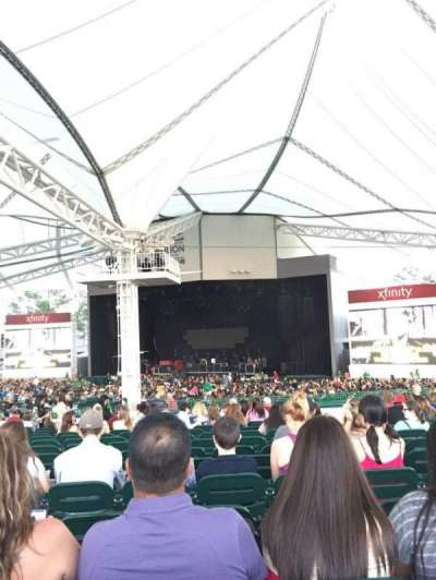Cynthia Woods Mitchell Pavilion, section: 109, row: Q, seat: 13