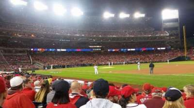 Nationals Park, section: 132, row: J, seat: 8