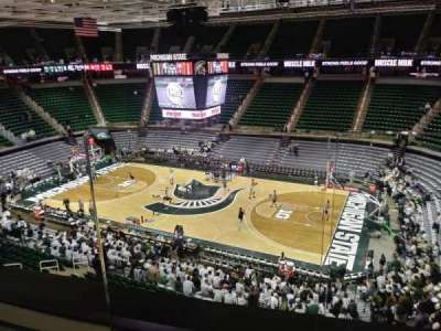 Breslin Center, section: 207, row: 2, seat: 1-2