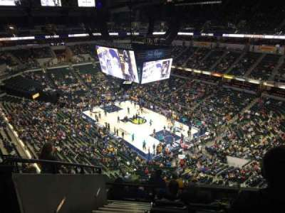 Bankers Life Fieldhouse, section: 220, row: 8, seat: 18