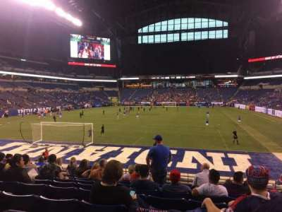 Lucas Oil Stadium, section: 125, row: 17, seat: 11