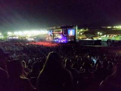 FivePoint Amphitheater, section: TERR301, row: 34, seat: 46
