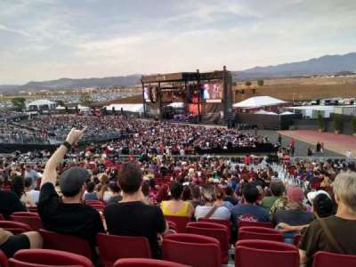 FivePoint Amphitheater, section: TERR301, row: 34, seat: 47