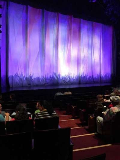Marquis Theatre, section: L Orch, row: J, seat: 3