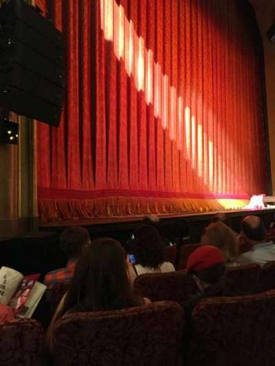 St. James Theatre, section: Orch L, row: D, seat: 15