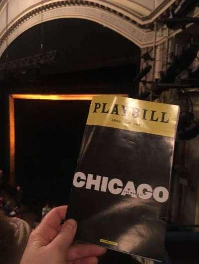 Ambassador Theatre, section: Mez R, row: C