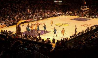 Staples Center, section: 214, row: 10, seat: 7