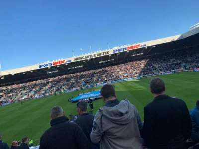St James' Park, section: L3C, row: TT, seat: 384