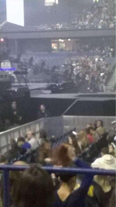 Allstate Arena, section: 103, row: D, seat: 8