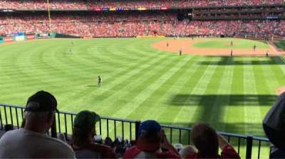 Busch Stadium, section: LP3, row: 4, seat: 8