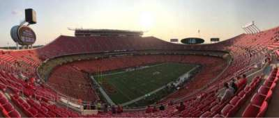 Arrowhead Stadium, section: 307, row: 17, seat: 16