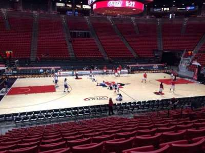 Viejas Arena section E