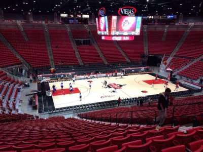 Viejas Arena section D