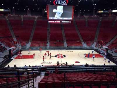 Viejas Arena, section: R, row: 24, seat: 12
