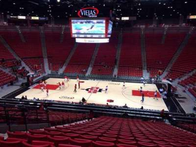 Viejas Arena, section: S, row: 28, seat: 9
