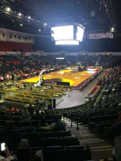Valley View Casino Center, section: L18a, row: 8, seat: 3
