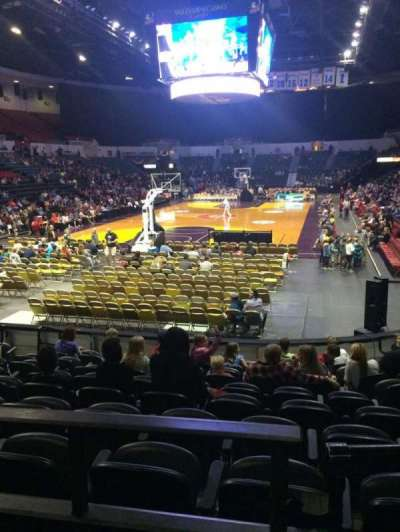 Valley View Casino Center, section: L18b, row: 2, seat: 2