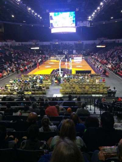 Valley View Casino Center, section: L19, row: 8, seat: 2