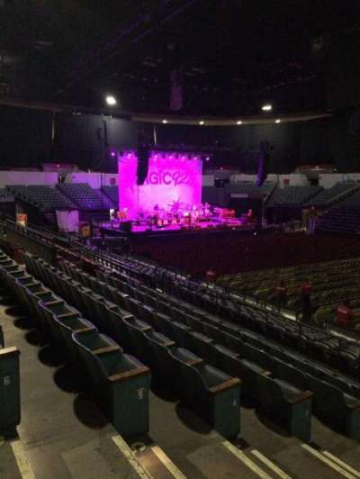 Valley View Casino Center, section: L23, row: 7, seat: 12