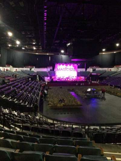 Valley View Casino Center, section: L20b, row: 7, seat: 2
