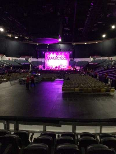Valley View Casino Center section LL18