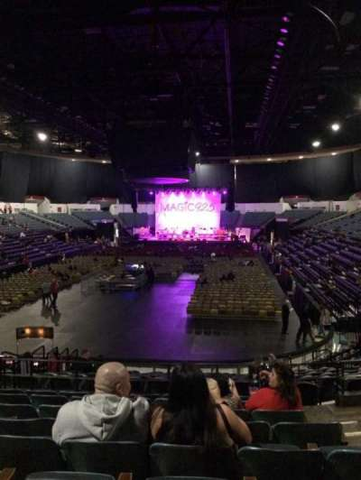 Valley View Casino Center section L18b