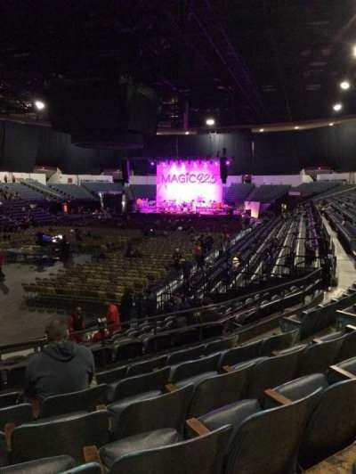 Valley View Casino Center, section: L17b, row: 6, seat: 8