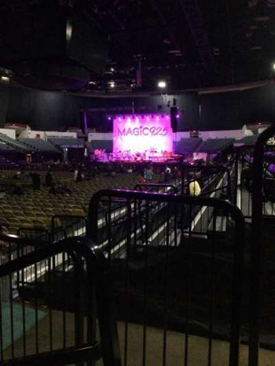 Valley View Casino Center section LL17