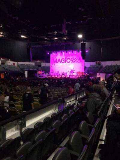 Valley View Casino Center, section: LL14, row: 4, seat: 13