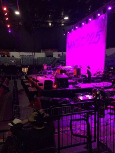Valley View Casino Center, section: LL11, row: 4, seat: 2