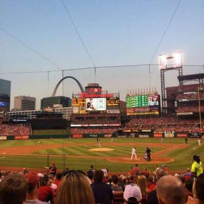 Busch Stadium section 152
