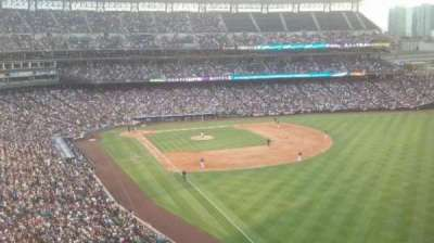 Coors Field, section: L311, row: 1, seat: 9