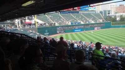 Progressive Field, section: 262, row: D, seat: 13
