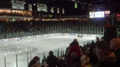 Munn Ice Arena, section: V, row: 16, seat: 5