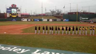 Cooley Law School Stadium, section: M, row: 1, seat: 6