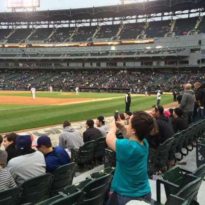 Guaranteed Rate Field, section: 146, row: 4, seat: 6