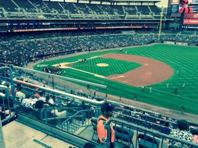 Comerica Park, section: 217, row: 3, seat: 22