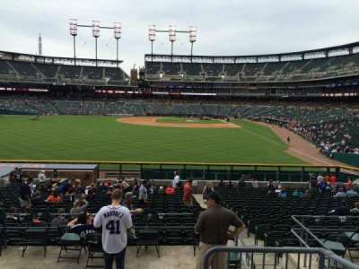 Comerica Park, section: 149, row: DD, seat: 4