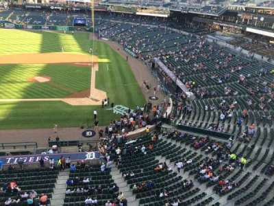 Comerica Park, section: 331, row: A, seat: 14